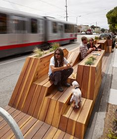 INTERSTICE Architects: Sunset Parklet