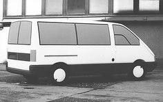 OG | Moskvitch AZLK-3733 / Москвич АЗЛК-3733 / BAZ MNA 1000 | Full-size prototype developed in 1989-91 | Full-size clay model