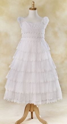 5377ic - Lace Frosting dress