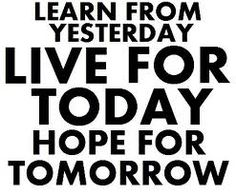 live, learn, thrive
