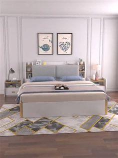 Bedroom Furniture Design, Home Room Design, Bed Design, Bed Furniture Design, Bedroom Closet Design, Bed Designs With Storage, Room Design Bedroom, Bedroom Bed Design, Interior Design