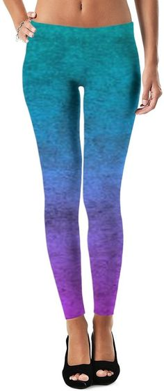 Lucid Dream Rave Storm Custom Yoga Party Style Leggings by Willy Badu.