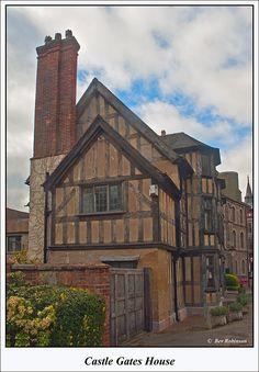 Castle Gates House, Shrewsbury, England