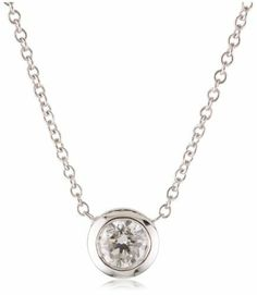 Kobelli 1/3 Cttw Round Diamond Solitaire Pendant Necklace Kobelli. $1190.00. Made in USA. 14k white gold. Kobelli is a world renowned company with precise and unique designs that embodies the personality in each woman.