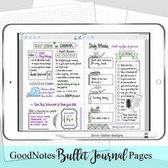 """39 Likes, 2 Comments - Jenny Gollan (@jennygollan) on Instagram: """"So my digital planner love affair is going strong using the GoodNotes app on my iPad. I've just…"""""""