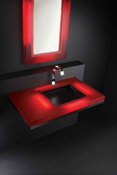 Neo - Contemporary Illuminated BathroomSet - Style Estate -