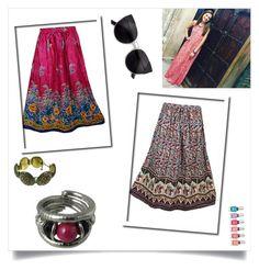Bohemian Gypsy Skirts by boho-chic-2 on Polyvore featuring sale, offer, gypsyskirt, bohemianskirt and bohoskirt