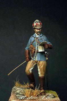 Arme Mini figurine personnage soldat guerre 19ème siècle