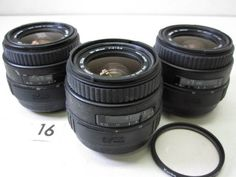 5L116EA SIGMA 35-80mm F4-5.6 レンズまとめて3本 ジャンク_画像1