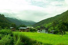 Amankora Punakha middenin een verlaten vallei #EasyNip