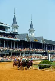 This is a picture of Churchill downs, Louisville, KY. This is the place the Kentucky derby is held every year. If Lexington is the horse Capitol of the world, wouldn't it make more sense if the Derby was held at Keeneland? Derby Time, Derby Day, The Places Youll Go, Places To See, Wisconsin, Michigan, Derby Horse, Churchill Downs, Louisville Kentucky