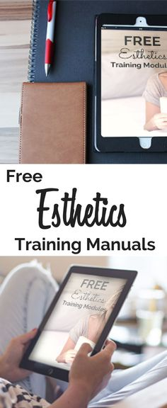 Free Esthetics Technical Training Modules