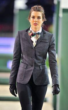 Charlotte Casiraghi  equestrian style  #equestrian