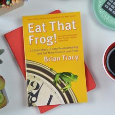 """The legendary Eat That Frog!(more than 1.5 million copies sold worldwide and translated into 42 languages) will change your life. There just isn't enough time for everything on our """"To Do"""" list—and there never will be. Successful people don't try to do everything. They learn to focus on the most important tasks and make sure they get done.There's an old saying that if the first thing you do each morning is to eat a live frog, you'll have the satisfaction of knowing that it's probably the…"""