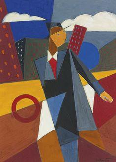 'Seul à Paris' (1958) by Bela de Kristo