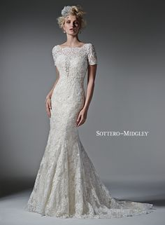 #sleeves #weddingdress #sparkle #sottero&midgley