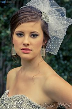 Wedding Veil - Short Veil by Bouquet By Rosa Loren