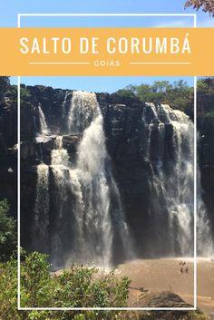 Gosta de muita natureza? Então encontrou o lugar certo! O Salto Corumbá fica pertinho de Goiânia e tem muitas cachoeiras, gruta e rio!