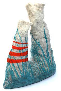 Big Wonkys by Vanja Bazdulj - Design Milk Pinch Pots, Ballet Shoes, Artisan, Textiles, Sculpture, Contemporary, Big, How To Make, Crafts