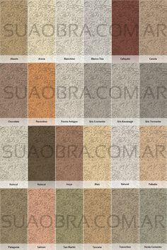 Catálogo de Colores Tarquini - Revestimientos Plásticos para Paredes Exteriores- Bourdieu 595 (Tigre) - Tel. 4589-7878