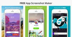 Free App Screenshot Maker: http://appinstitute.com/app-screenshot-maker/