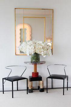 Ghesquiere's Paris apartment. This designer has an exquisite feel for interior spaces.