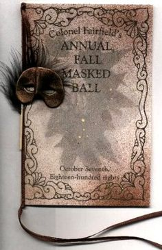 Victorian Masked Ball 1880.......to be invited to this......sigh....