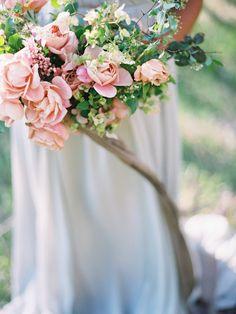 Romantic spring bridal bouquet   Wedding & Party Ideas   100 Layer Cake