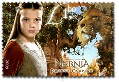 New Zealand Narnia Stamps! I don't have this because WHY?!