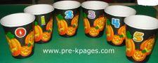 halloween preschool theme with ideas for math, literacy etc.