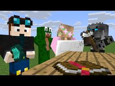 Youtuber House: Popularmmos, Thediamondminecart, Littlelizardgaming, Minecraft, donut the dog - YouTube