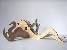 Eight Arms to Hold You | Octopus | Tentacle | Woodcut octopus