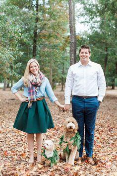 adorable Christmas engagement session | Jen Dillender #wedding