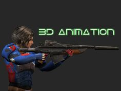 Game animation demo reel - Afterworld