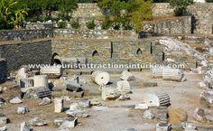 Mausoleum in Bodrum http://touristattractionsinturkey.com/mausoleum-in-bodrum/