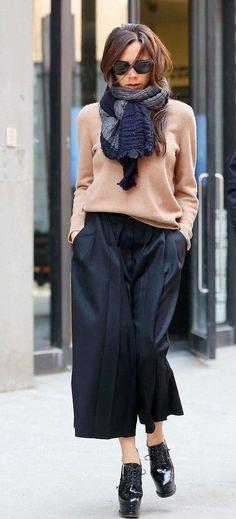 5 луков с брюками-кюлотами от самых доступных брендов - Я Покупаю