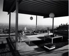 ARTIST:  Julius Shulmanbr /TITLE:  Case Study House #22, Los Angeles, CAbr /(Pierre Koenig, architect, 1959)br /DATE:  1960br /MEDIUM:  vintage gelatin silver printbr /SIZE:  h: 8 x w: 10 in