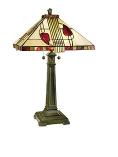 Save $ 10 order now Dale Tiffany 2721/739 Henderson Table Lamp, Antique Bronze a