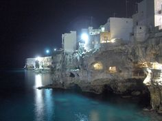 Ristorante Grotta Palazzese, south of Italy