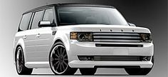 Ford Bringing More Than a Dozen Custom Flex Creations to SEMA - MotorTrend Car Ford, Ford Trucks, My Dream Car, Dream Cars, Ford 2000, 7 Seater Suv, Dodge, Ford Flex, Diesel Cars