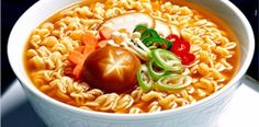 Delicious Ramyun - How to cook tasty Korean ramen? Healthy Korean Recipes, Ramen Recipes, Asian Recipes, Cooking Recipes, Comida Ramen, Ramen Food, Mie Goreng, South Korean Food, I Want Food