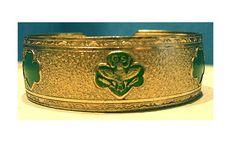 1940s Girl Scout Cuff Bracelet, $70.12