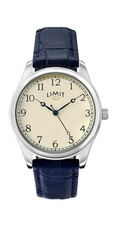hinds pocket jewellers limit dial by watch l blue brand f metallic strap watches leather black