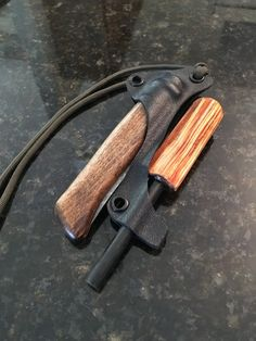 Great idea if the handle of the Firestarter is fatwood