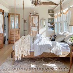 Serene Bedroom, Small Room Bedroom, Beautiful Bedrooms, Modern Bedroom, Bedroom Decor, Stylish Bedroom, Cozy Bedroom, Bed Room, Kids Bedroom