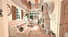 Home Building Design, Building A House, Home Interior Design, Interior And Exterior, Cottage Lounge, House Plans With Pictures, Chandelier Fan, Roblox Animation, Roblox Roblox