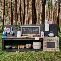 Mud Kitchens | Castle & Cubby | Cubby Houses Australia | Kids Cubbies House For Sale & Hire
