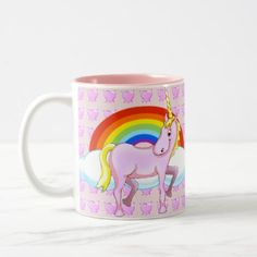 Happy Unicorn Mug - diy individual customized design unique ideas
