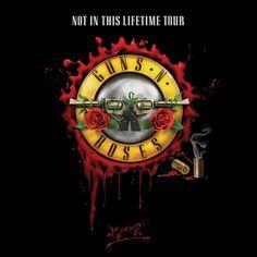 "Guns N' Roses announces ""Not in This Lifetime"""