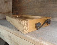 Wood Tray by Splinterzshop on Etsy